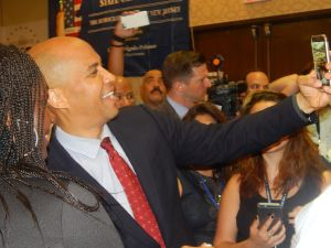 U.S. SENATOR CORY BOOKER. His allies could make a strong case for why he should edge Christie in the number one slot. New Jersey's governor took a shot at president and stumbled into the political abyss. But Booker's still in a good spot to take a well-timed stab at the White House. His national stage standing easily puts him at the top of the heap in his home state.