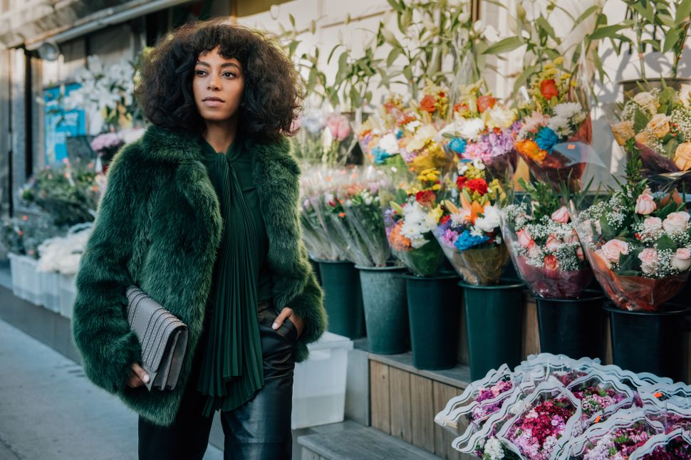 Solange and a Princess Star in Michael Kors' Fall Ads
