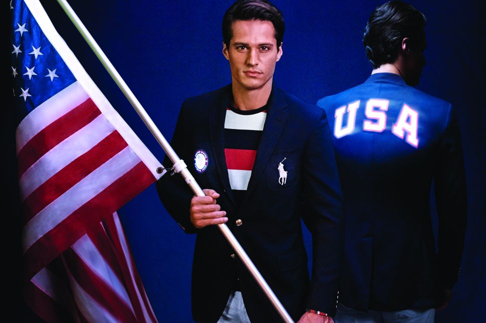 Olympian Cliff Meidl on Ralph Lauren's Innovative Opening Ceremony Uniform