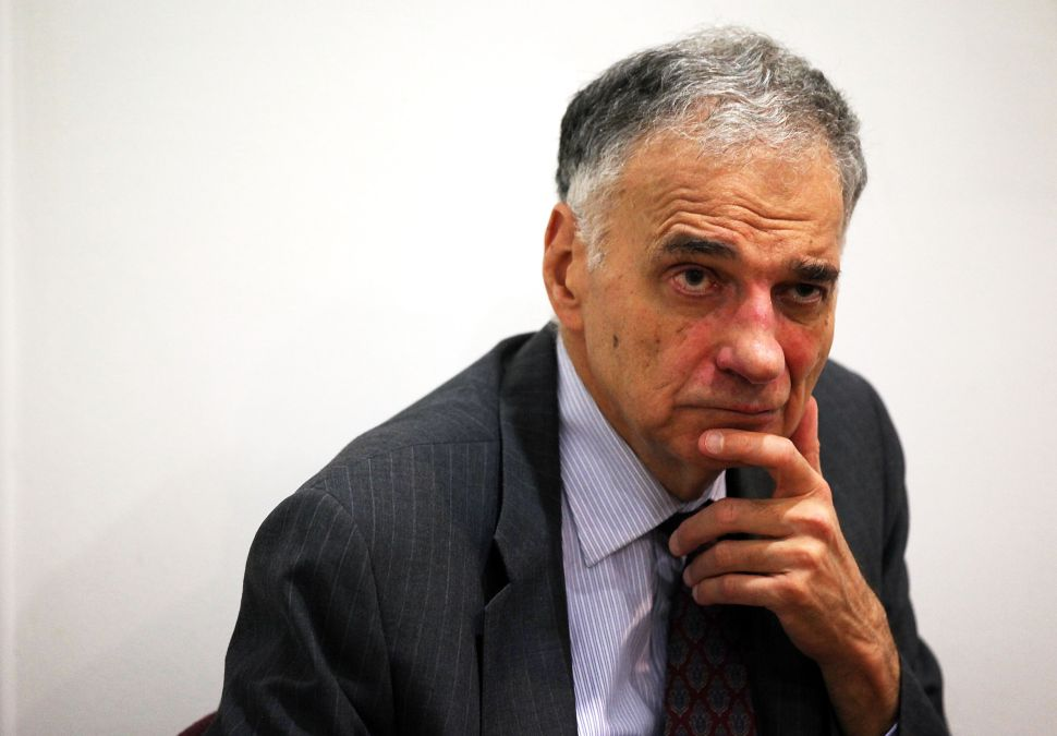 Ralph Nader: DNC Clearly Slanted Against Sanders From the Get-Go