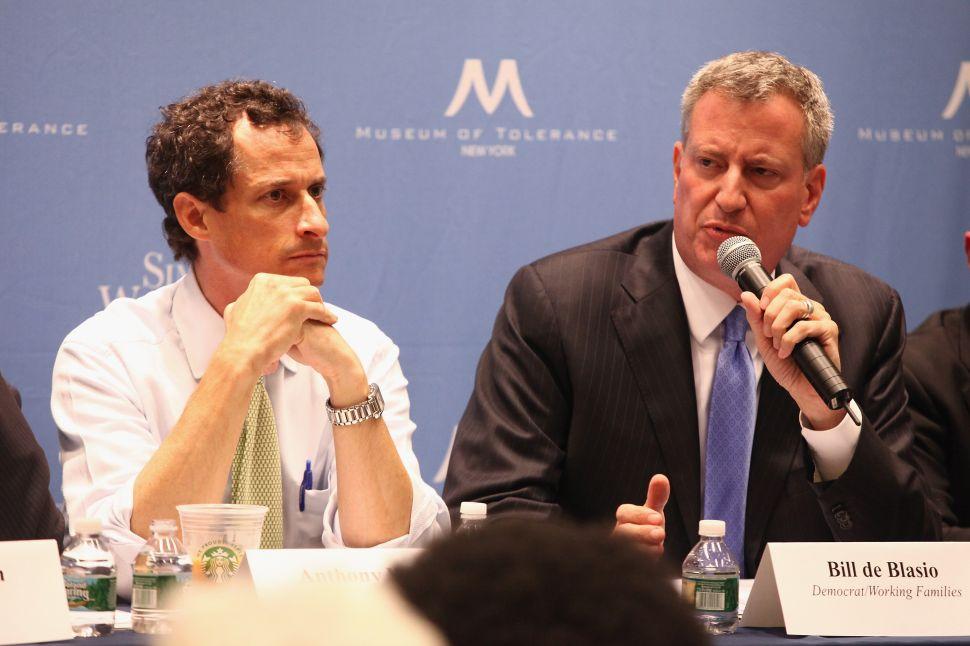 NYC Mayor Says He Still Thinks 'the World of' Huma Abedin, the Wife of Anthony Weiner