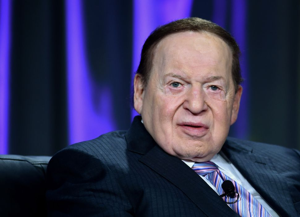 Exclusive: Sheldon Adelson Deploys Task Force to Combat Soaring Campus Anti-Semitism