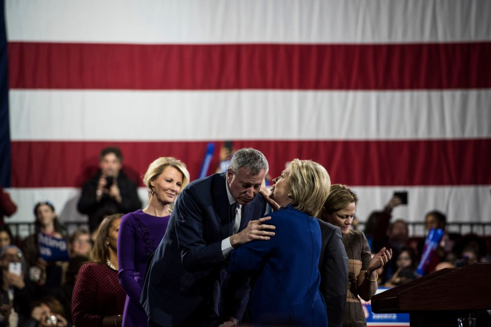 NYC Mayor's Defense in Face of Probes: Hillary Clinton Got Investigated Too