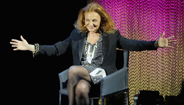 Diane Von Furstenberg will head the CFDA through 2018.