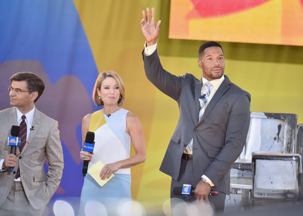 No, Amy Robach Is Not a White Supremacist