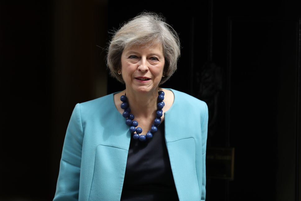 British PM Theresa May Faces a Rocky Road Ahead