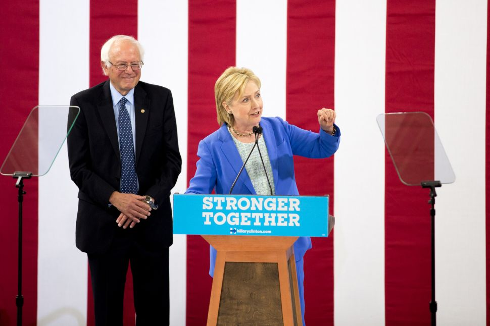 The Only Thing Clinton Offers Progressives Is Fear of Donald Trump