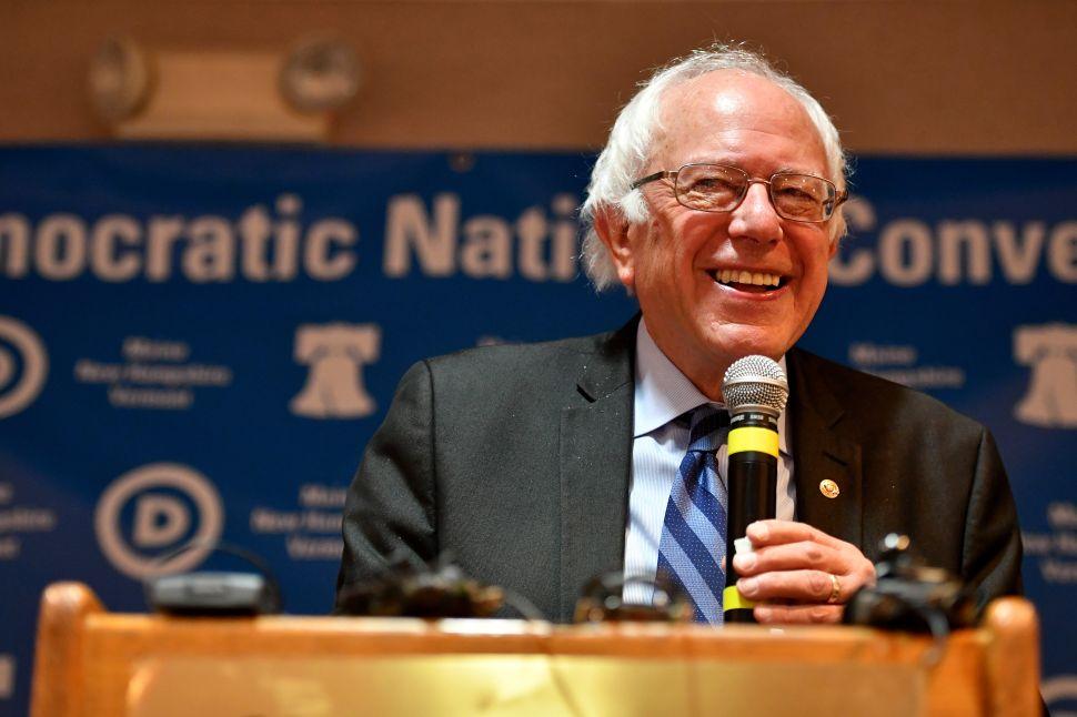 Bernie Sanders' Finest Hour