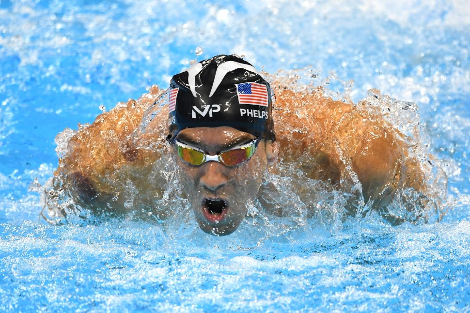 Someone Added Nintendo Music to a Video of Michael Phelps Racing, and It's Amazing