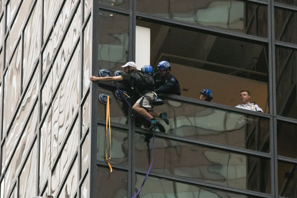 Virginian Who Scaled Trump Tower Under Evaluation at Bellevue, NYPD Says