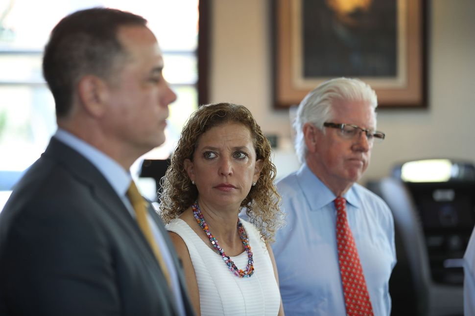 Democrats Keep Party Rigged With Wasserman Schultz Victory