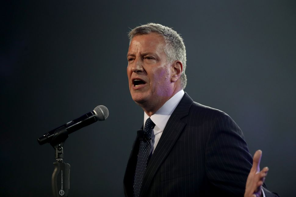 De Blasio Open to Working With Trump If He Has a 'Real Plan' for Infrastructure