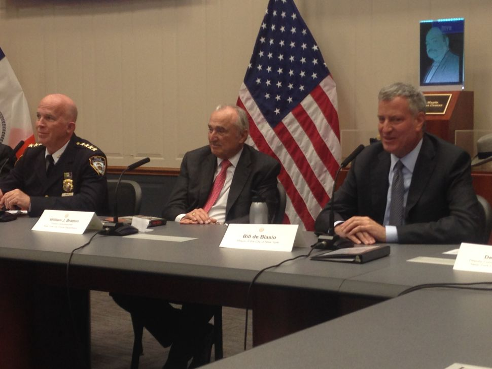 New NYPD Boss Backs Bratton, Mark-Viverito on Reform Deal: 'I'm Totally Committed'