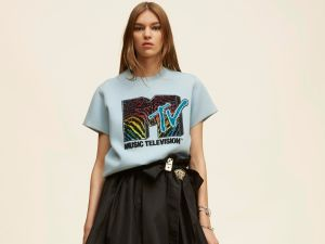 Marc Jacobs Short Sleeve Embroidered MTV Sweatshirt, $995