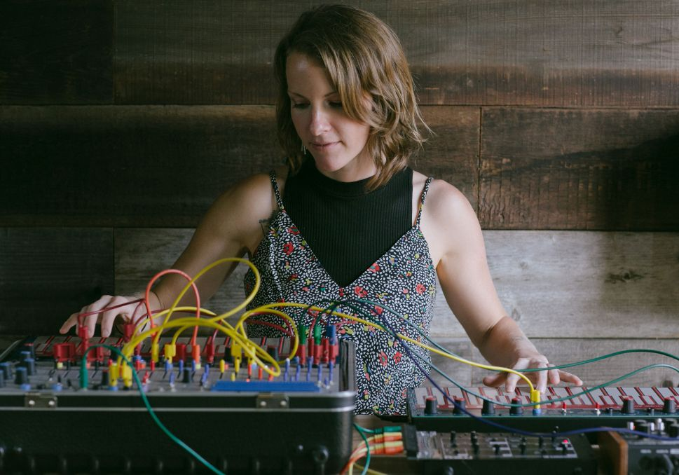 Kaitlyn Aurelia Smith Transforms Colors Into Modular Synth Magic