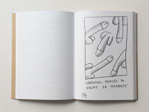 Manhattan Penis Drawings for Ken Hicks.