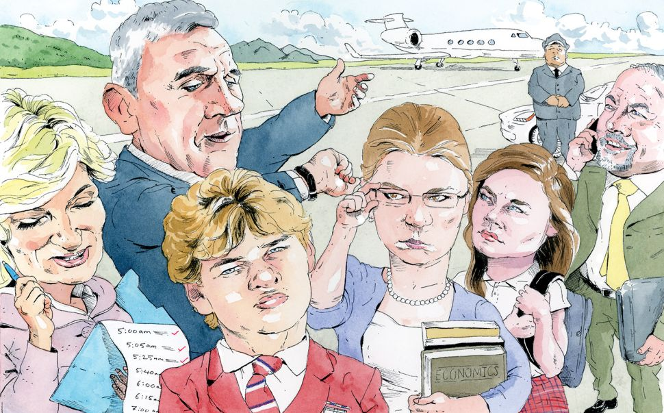 Private-Plane Parenting: 'Child Support' for the 1%