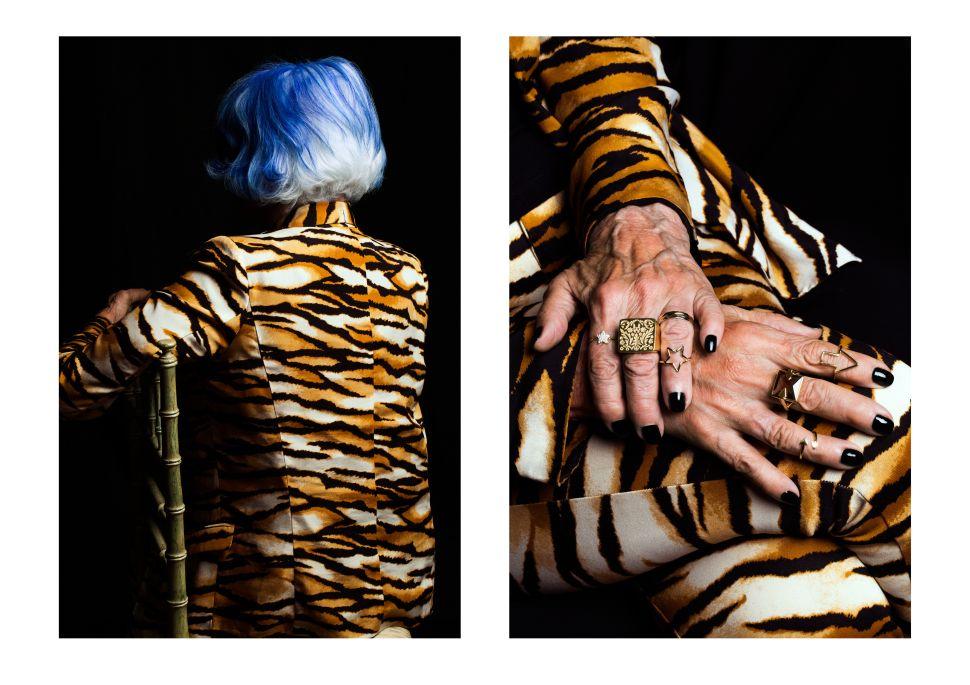 Meet the Elderly Hand Models in Karen Walker's Jewelry Campaign