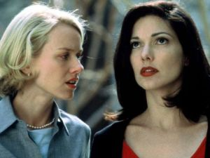 Naomi Watts and Laura Elena Harring in Mulholland Drive.