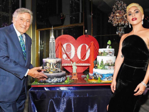 Tony Bennett, Lady Gaga and the many cakes