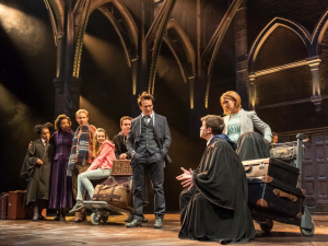 A scene from 'Harry Potter and the Cursed Child' which most people won't be able to see for a while.