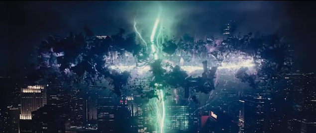 A Quick Word From: The Giant Sky Beam in Every Superhero Movie