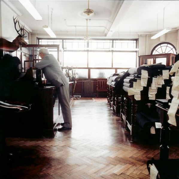 This Historic London Tailor Has Dressed Everyone From Fred Astaire to Charlie Chaplin