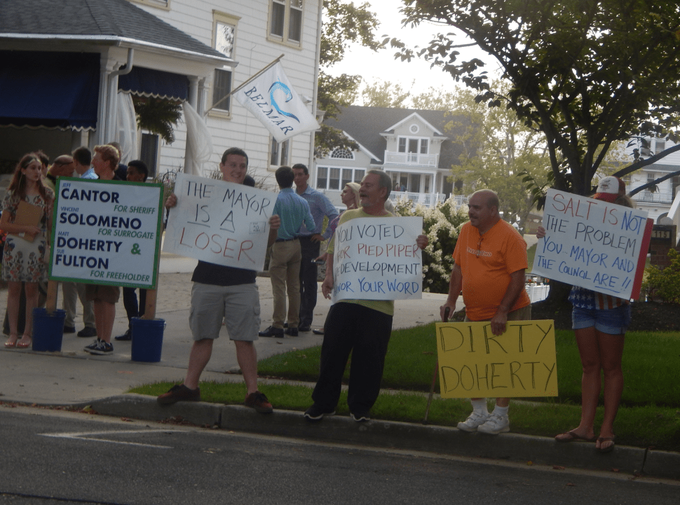 Monmouth Dems Allege County Republicans Paid Trump Protestors