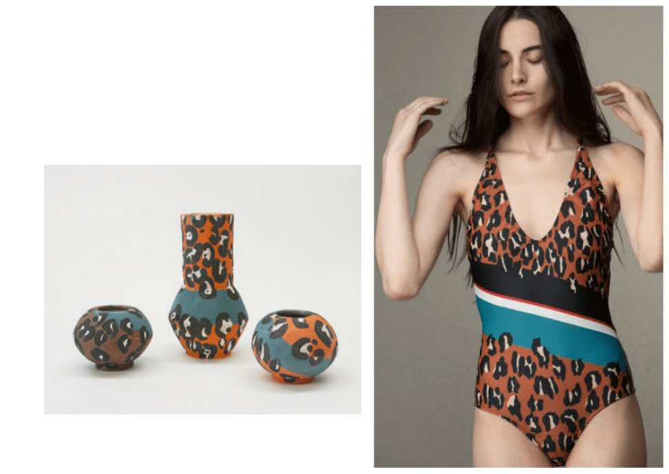 A Ceramics Range Was Inspired by Rachel Comey's Spring Collection