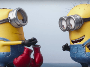 I do not want these Minions, or those boxing gloves.