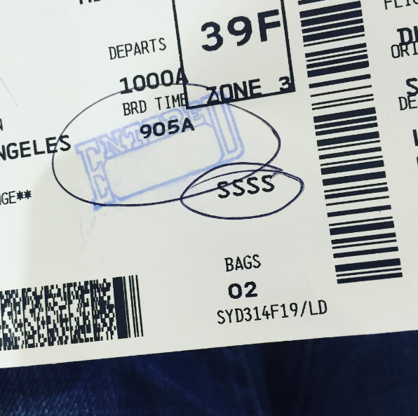 What Do Those TSA Scribbles on Your Boarding Pass Really Mean?
