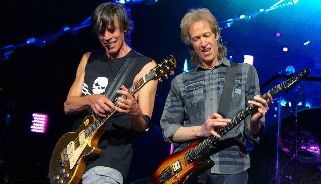 Tom Scholz and Gary Pihl of Boston.