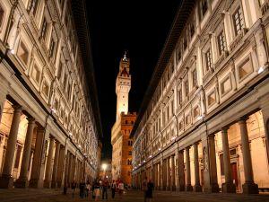 Uffizi Gallery in Florence.