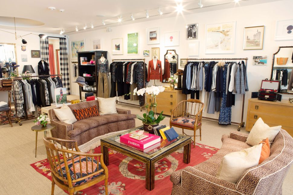 The First Veronica Beard Store Is a Cool Mix of Vintage and Modern Décor