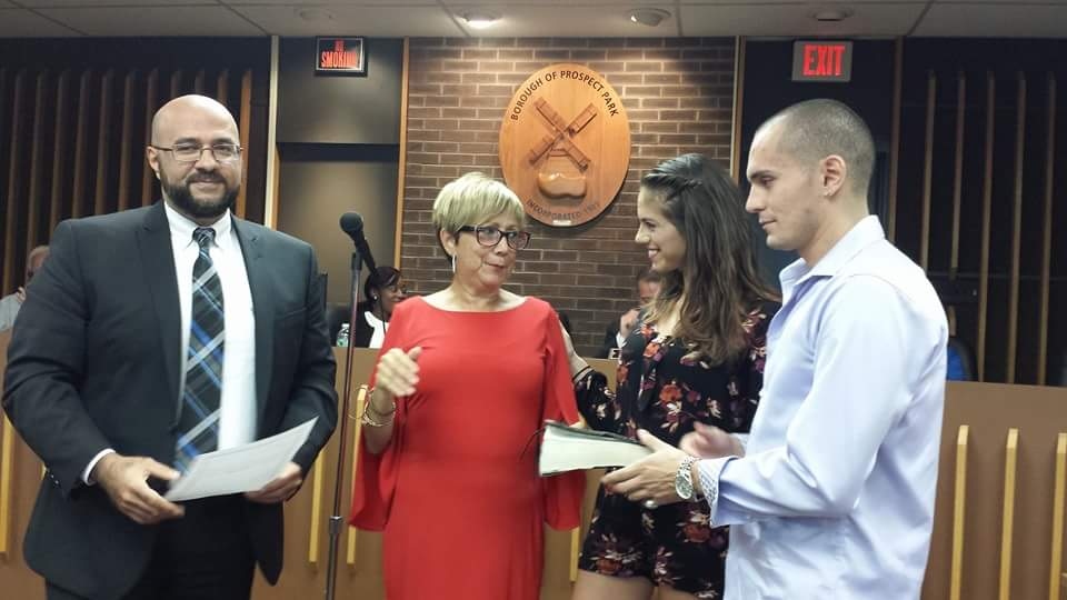 Prospect Park Swears-In Replacement Councilperson