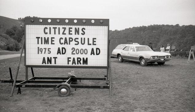 Ant Farm. Citizens Time Capsule, 1975.