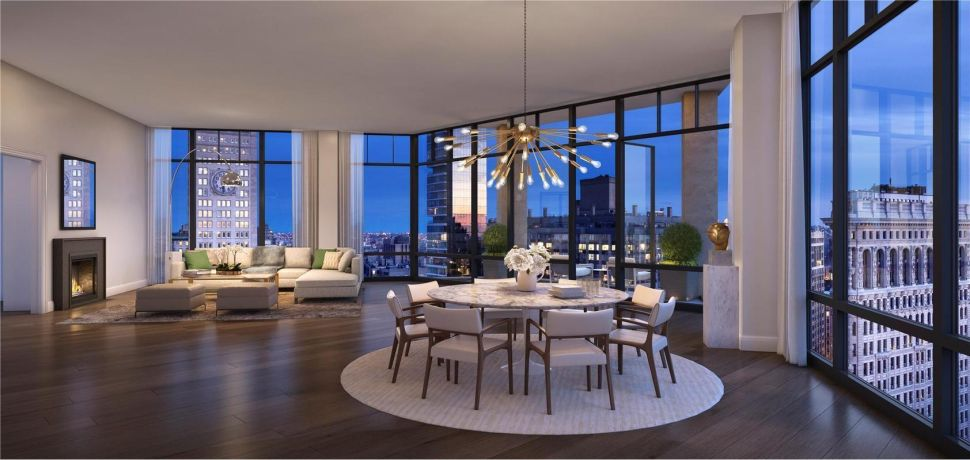 Palatial Penthouse at 10 Madison Square West Sells for $33.09M