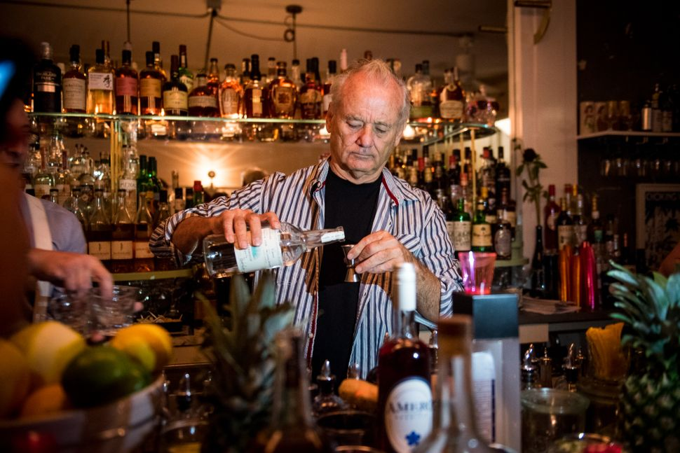 Bill Murray Became a Brooklyn Bartender This Weekend