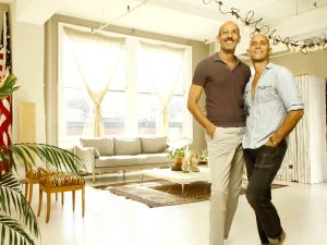 Yossi Peled (left) and Olivier Wilkins in their FSBO unit at 222 Park Avenue South.