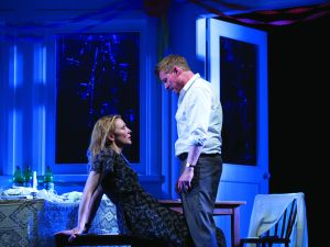 Cate Blanchett and Richard Roxburgh in The Present.