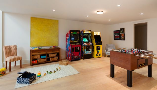 It's an arcade in your basement.
