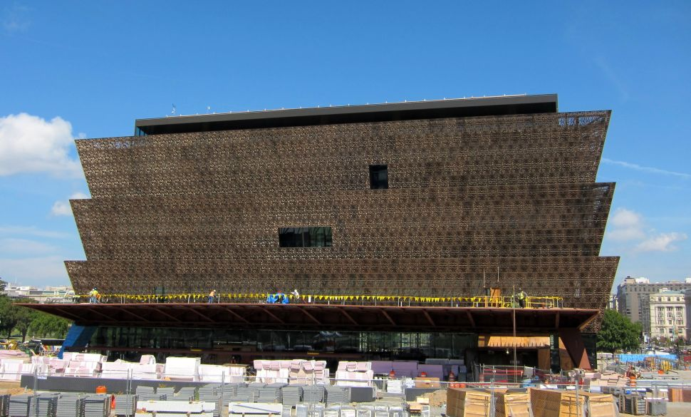 Iranian Artist Builds Own Museum, You Can't Get Into the New African American Museum