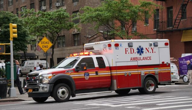 An FDNY ambulance.