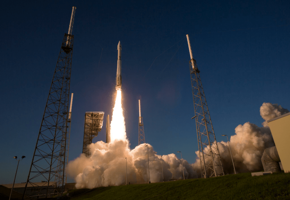 Watch Our Incredible Footage of OSIRIS-REx Being Launched Towards an Asteroid