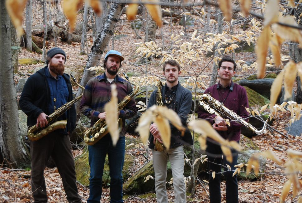 How Four-Tenor Sax Quartet Battle Trance Heals With the Power of Music