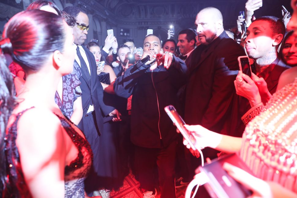 Kanye Made a Shot at Redemption at Last Night's Harper's Bazaar Icons Ball