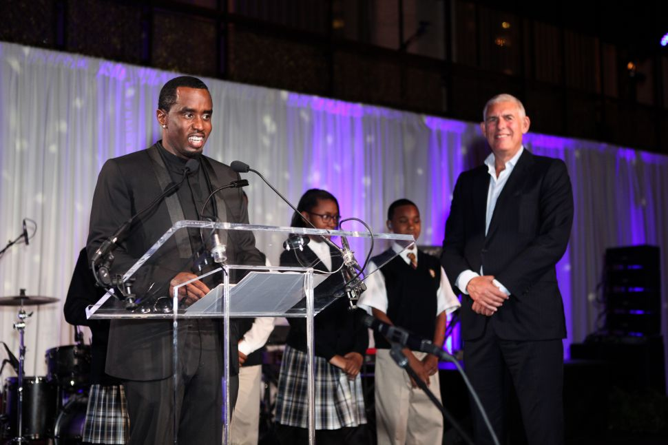 Rapper P. Diddy Gets Political at Last Night's Boys & Girls Harbor Gala