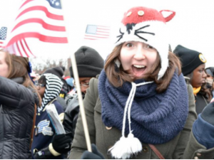 Libby Watson is crowdfunding so she can continue to live and work in the United States.