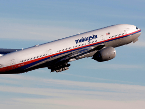 Malaysia Airlines Flight 370, before it disappeared.