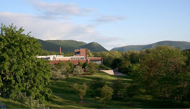 The Dia Beacon Museum in Dutchess County New York.